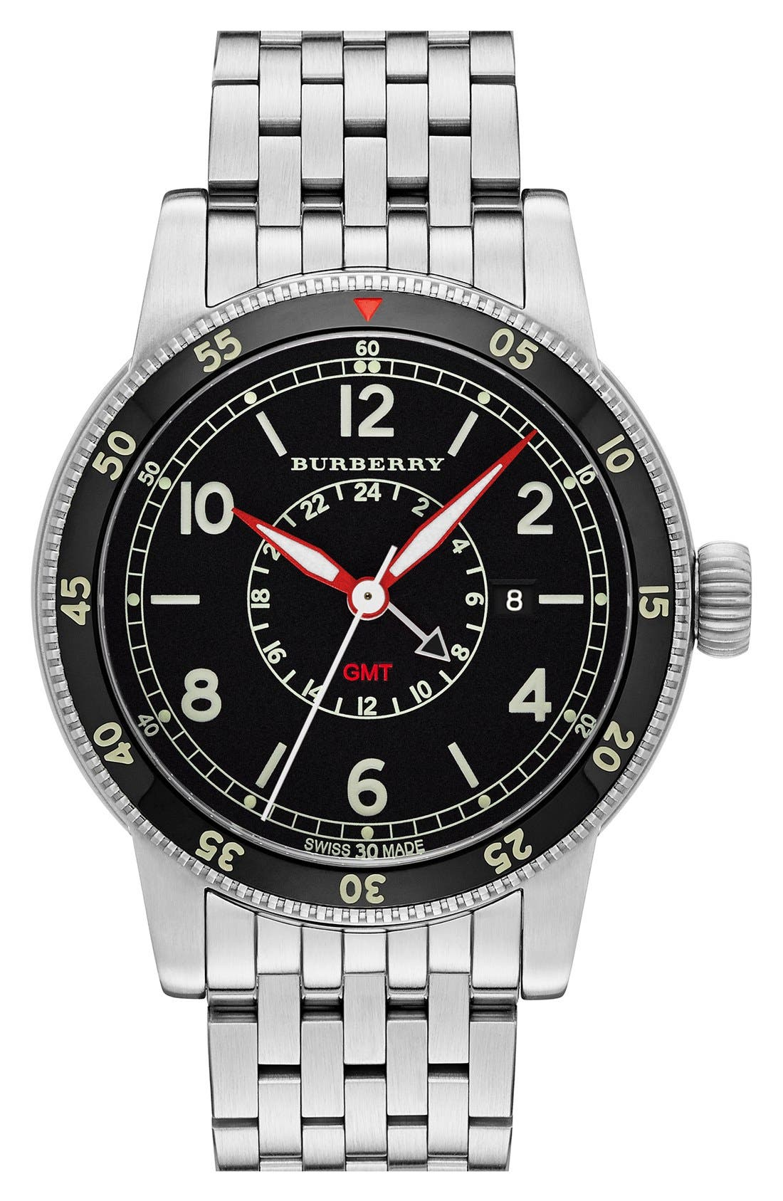 burberry gmt watch