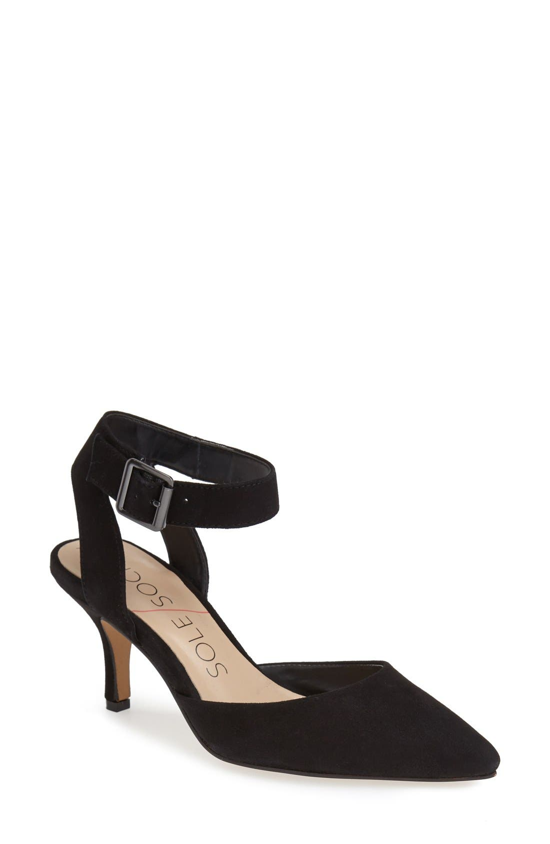Alternate Image 1 Selected - Sole Society 'Olyvia' Suede Pump (Women)
