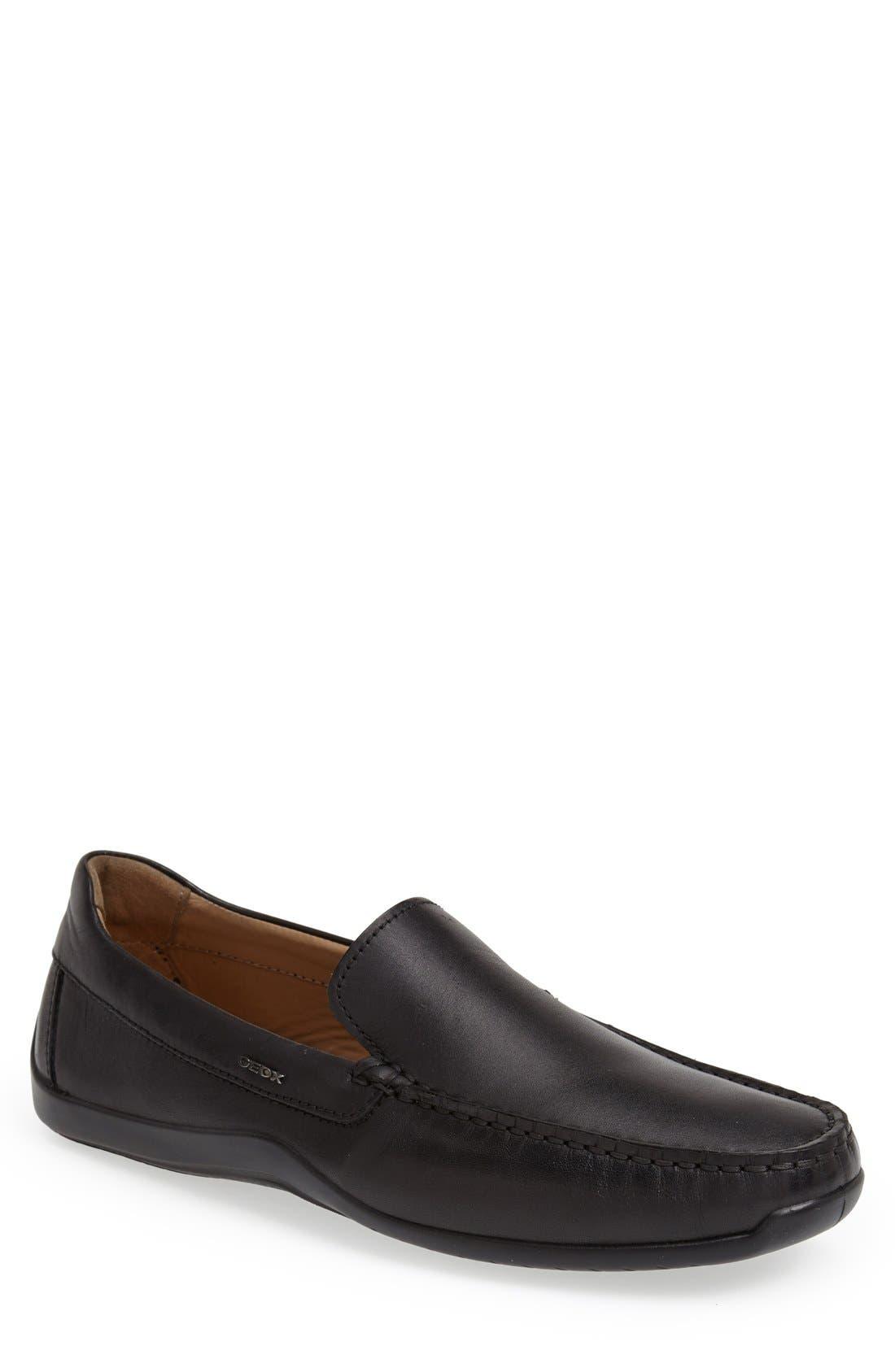 Alternate Image 1 Selected - Geox 'U Xense Mox' Driving Shoe (Men)