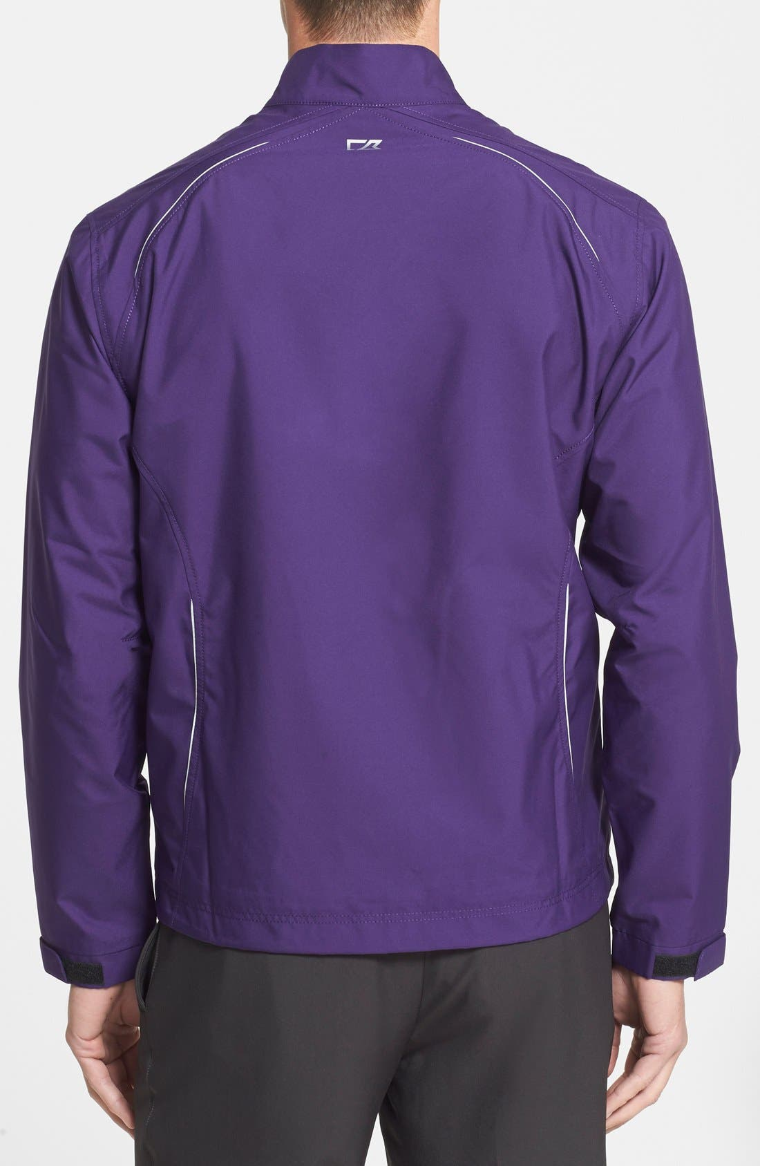 WeatherTec Beacon Water Resistant Jacket,                             Alternate thumbnail 2, color,                             College Purple