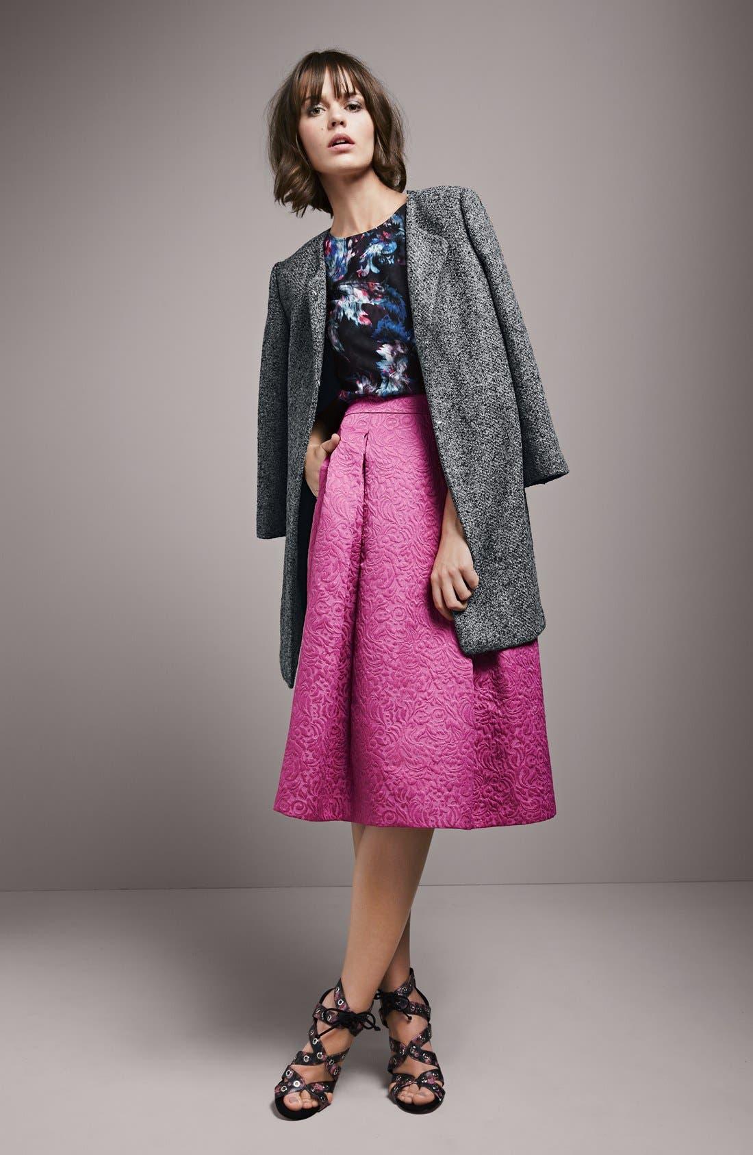Full Pleat Skirt,                             Alternate thumbnail 4, color,