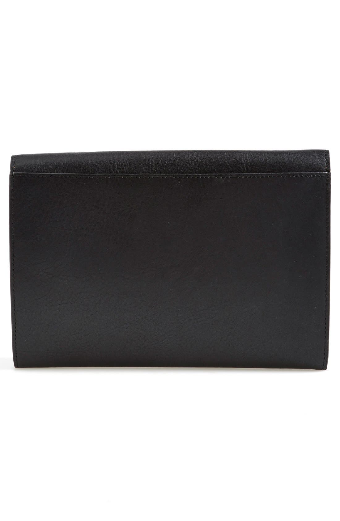 Alternate Image 4  - KENZO 'Raindrop' Leather Clutch