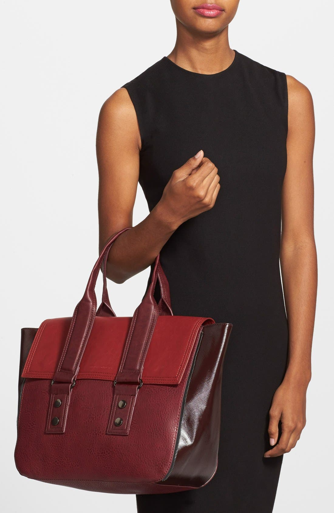 Alternate Image 2  - French Connection 'Elite' Faux Leather Tote