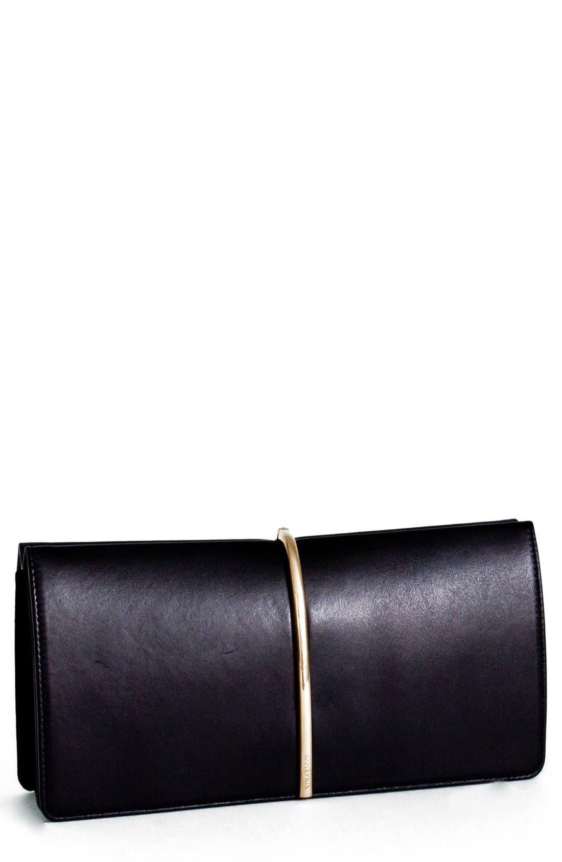 Alternate Image 1 Selected - Nina Ricci 'Arc' Leather Clutch