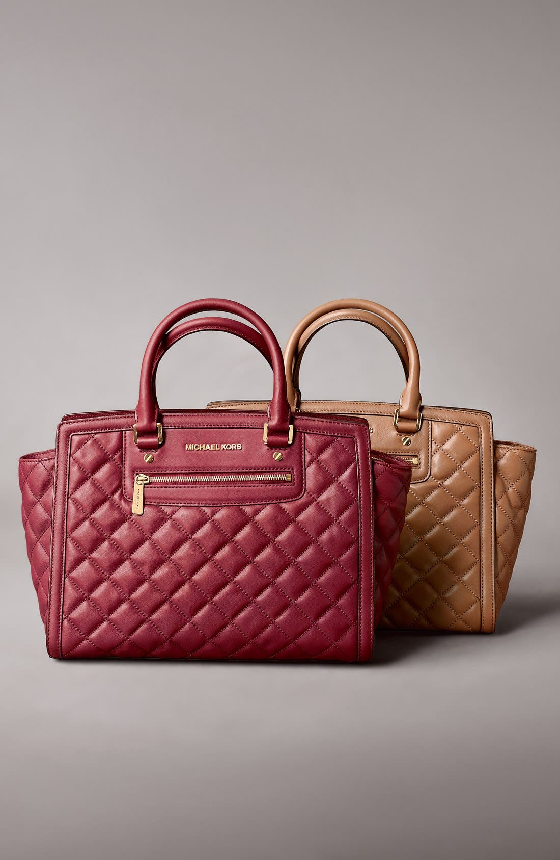 Alternate Image 5  - MICHAEL Michael Kors 'Large Selma' Quilted Leather Satchel