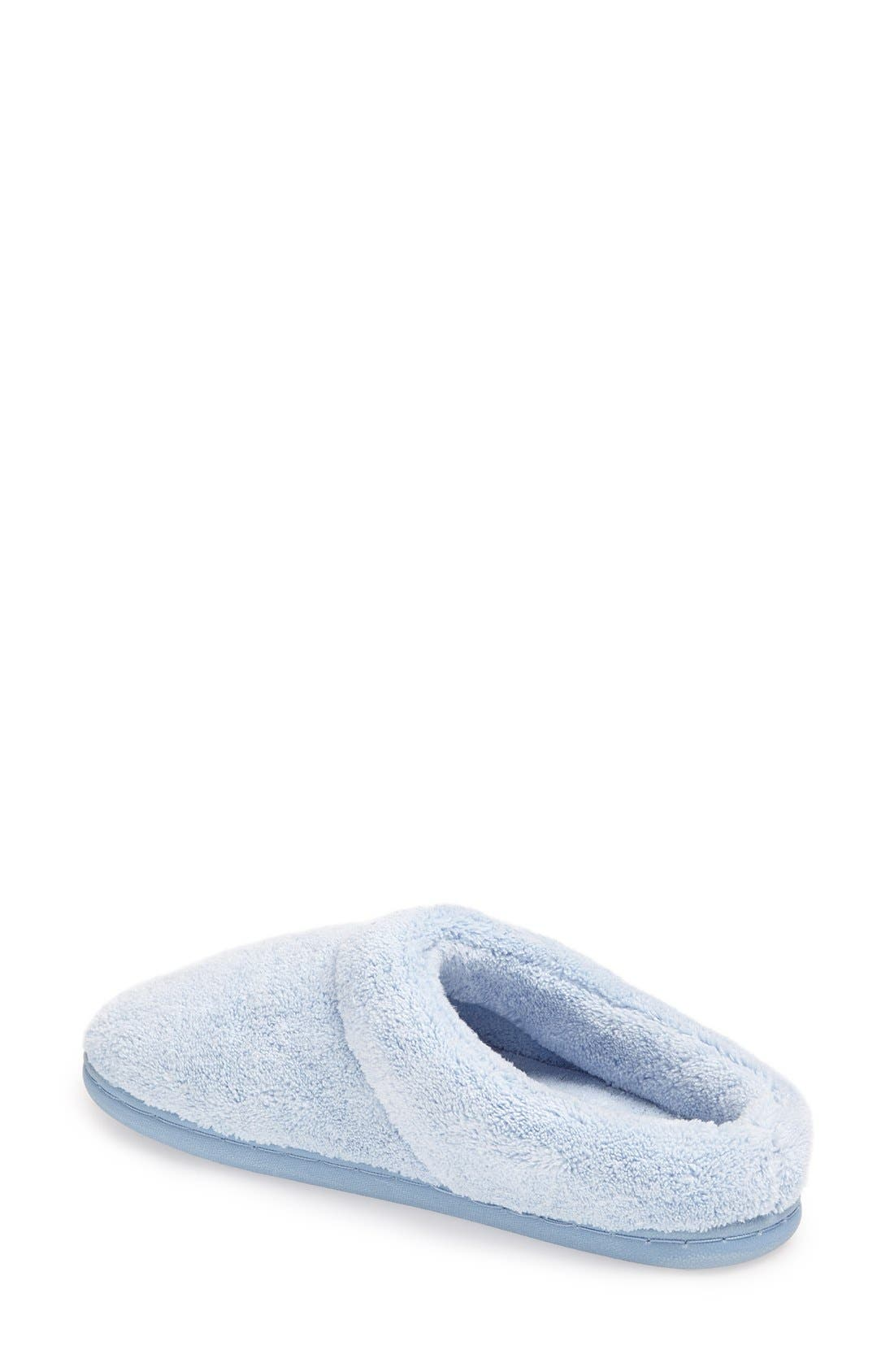 'Windsock' Slipper,                             Alternate thumbnail 2, color,                             Light Blue
