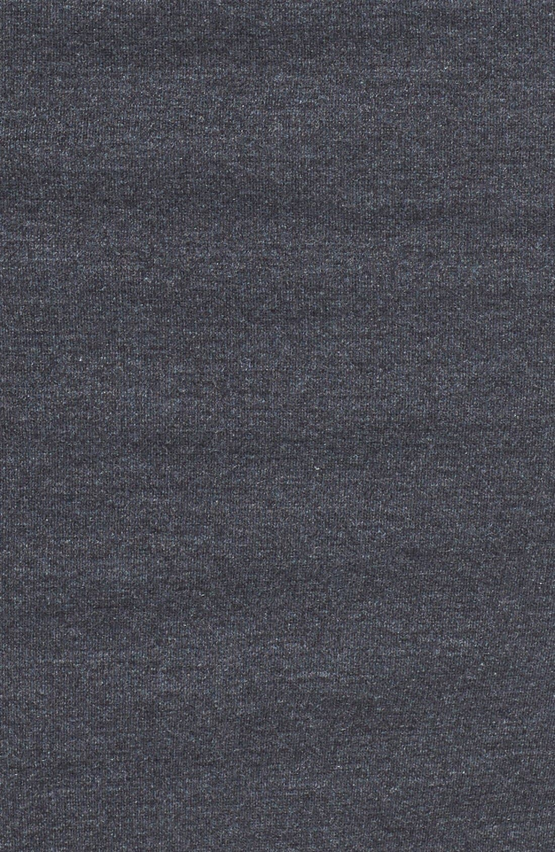 Alternate Image 4  - Nicole Miller Ruched Ponte Knit Sheath Dress