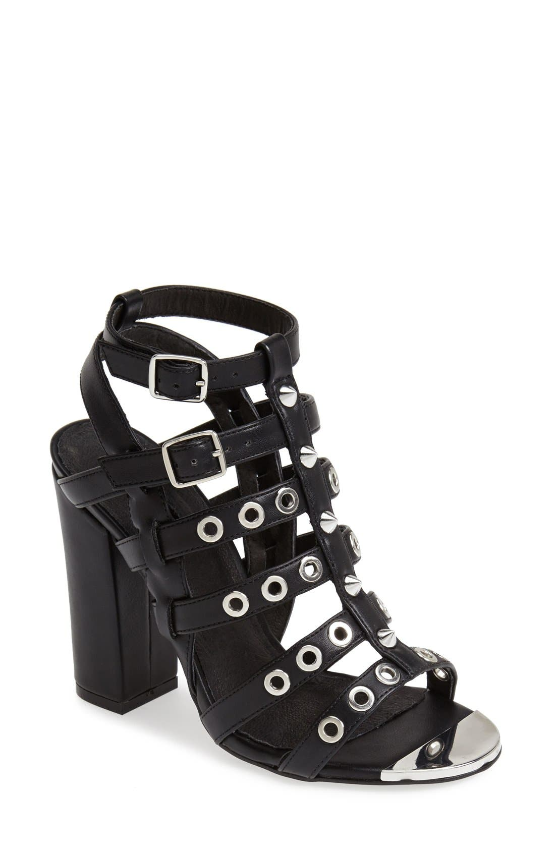Alternate Image 1 Selected - Topshop 'Roxy' Gladiator Sandal (Women)