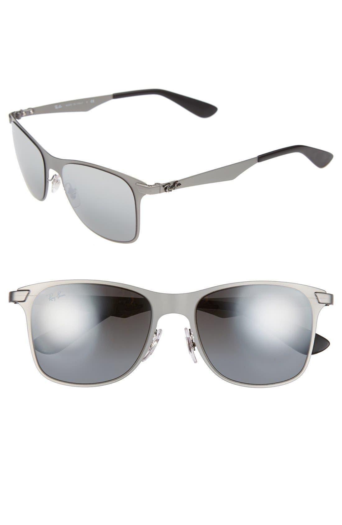 Alternate Image 1 Selected - Ray-Ban 'Steel Man' 52mm Sunglasses