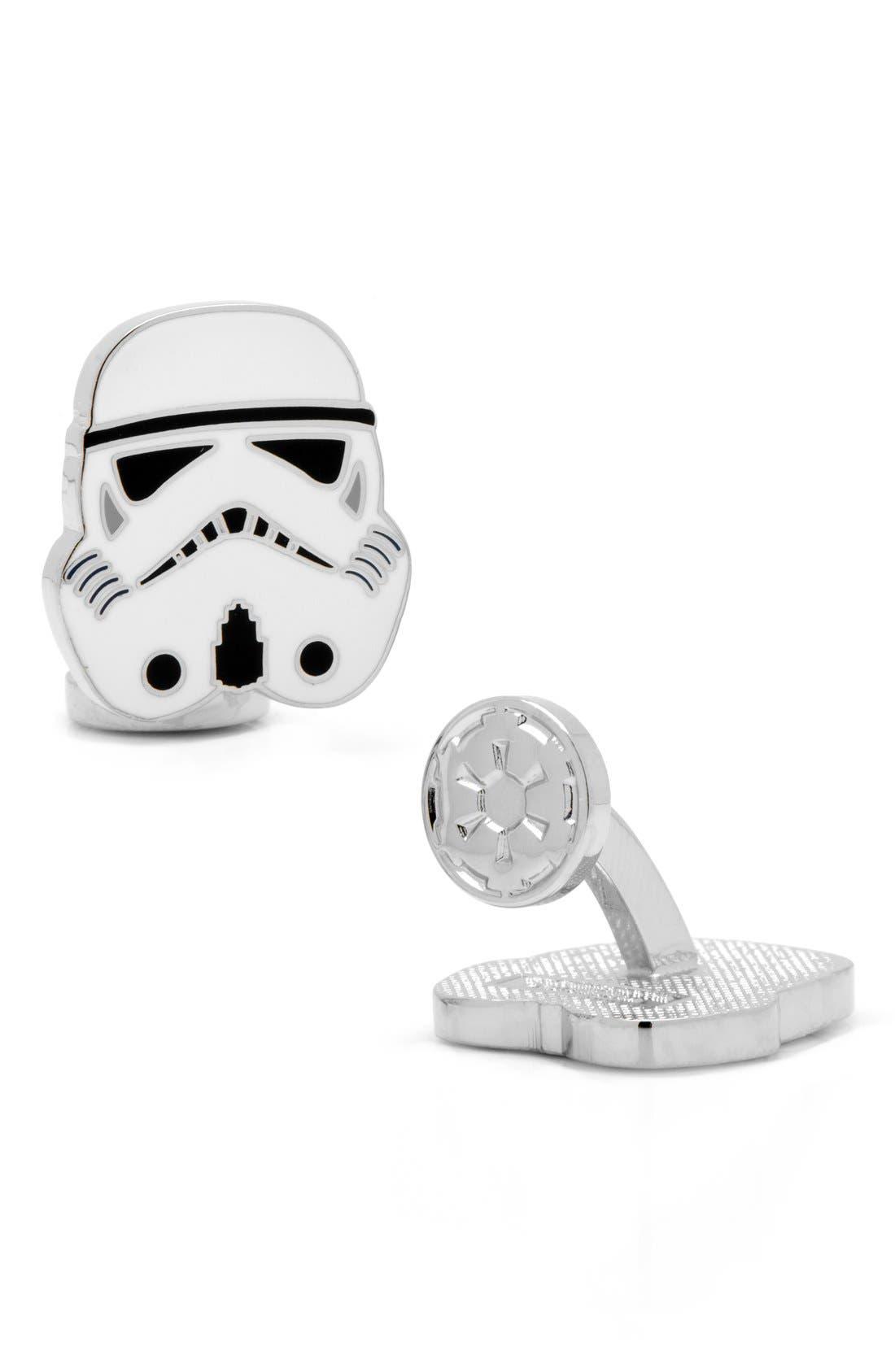 Main Image - Cufflinks, Inc. 'Star Wars™ - Stormtrooper' Cuff Links