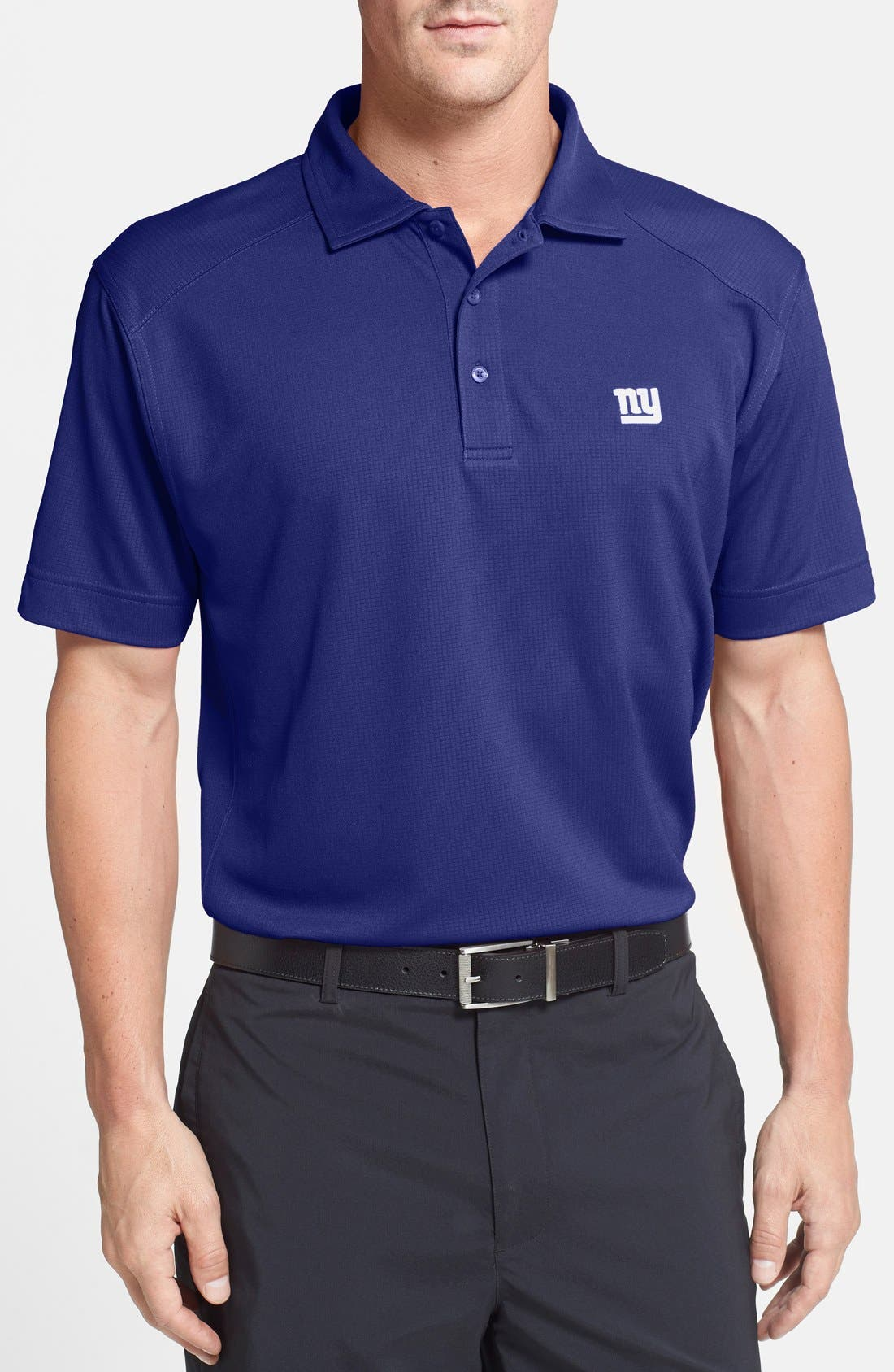 'New York Giants - Genre' DryTec Moisture Wicking Polo,                         Main,                         color, Tour Blue