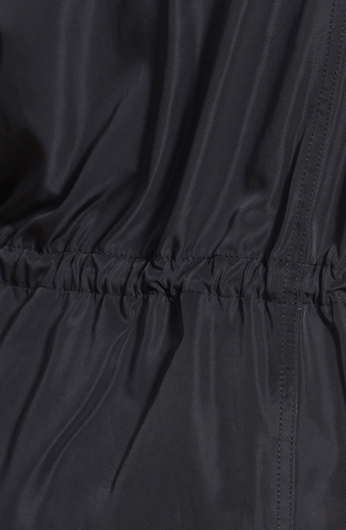 Long Parka,                             Alternate thumbnail 3, color,                             Black