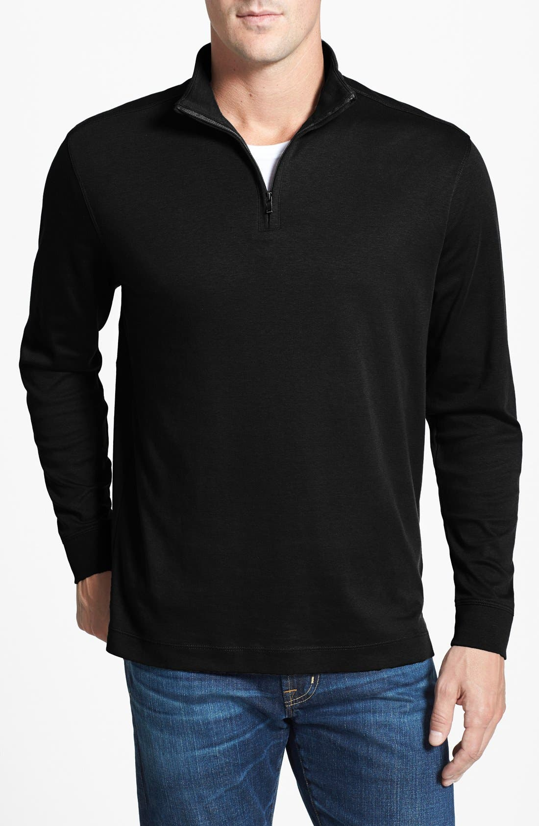 Cutter & Buck Belfair Quarter Zip Pullover