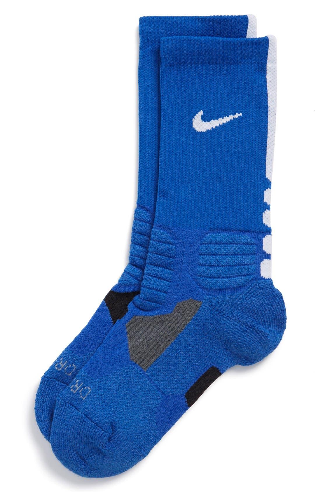 Main Image - Nike 'Hyper Elite' Dri-FIT Basketball Socks (Big Kid)