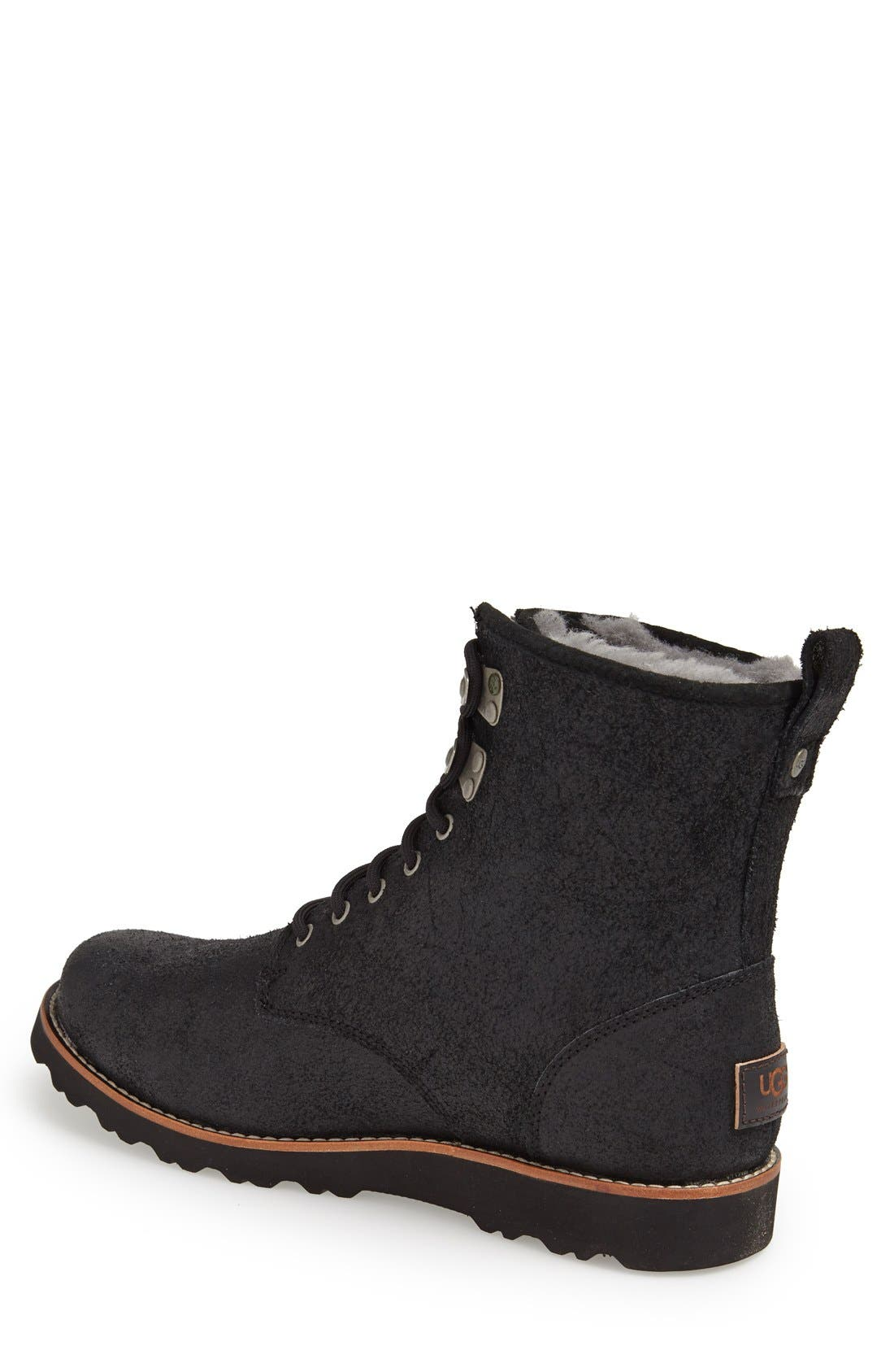Alternate Image 2  - UGG® Australia 'Hannen' Plain Toe Boot (Men)