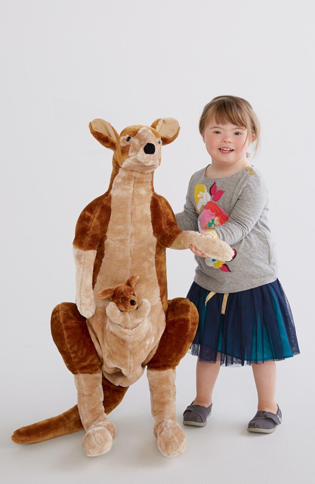 Oversized Kangaroo,                         Main,                         color, Brown