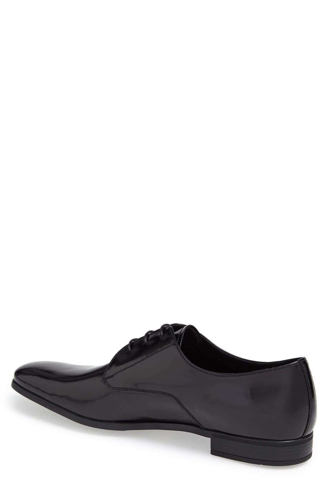Alternate Image 2  - Prada Spazzalato Plain Toe Derby (Men)