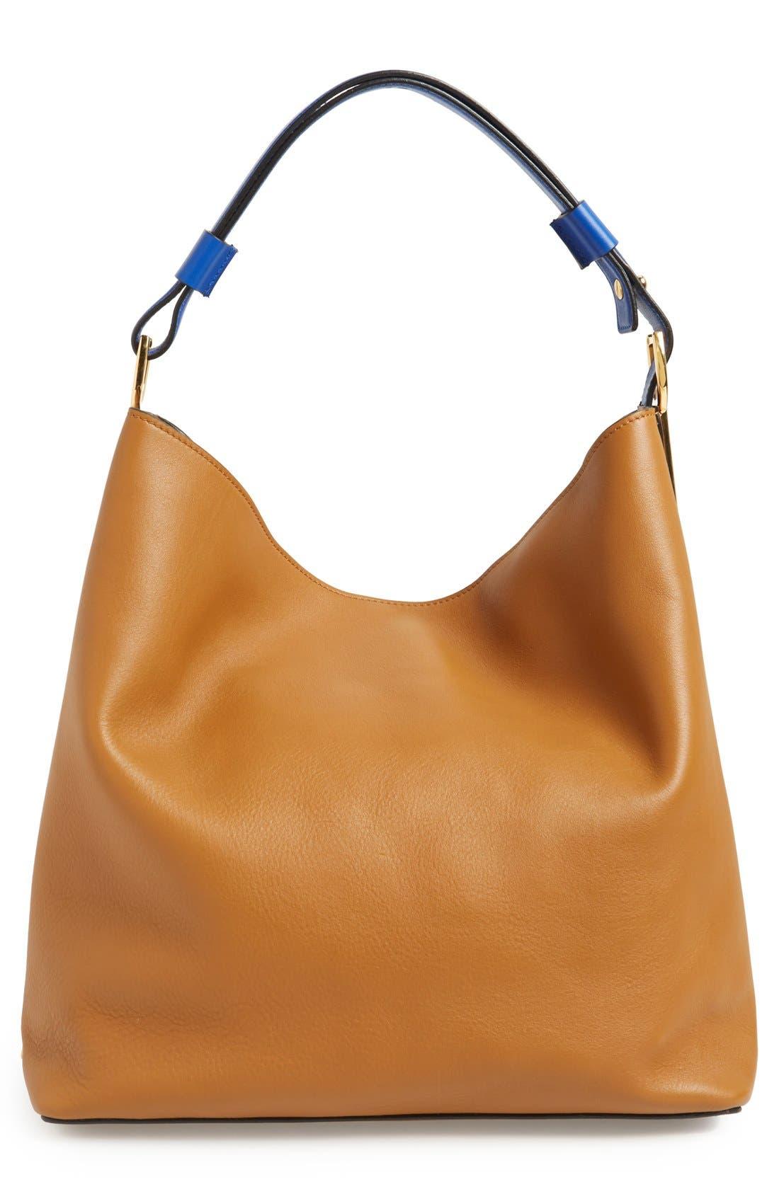 Alternate Image 2  - Marni Tasseled Leather Shoulder Bag