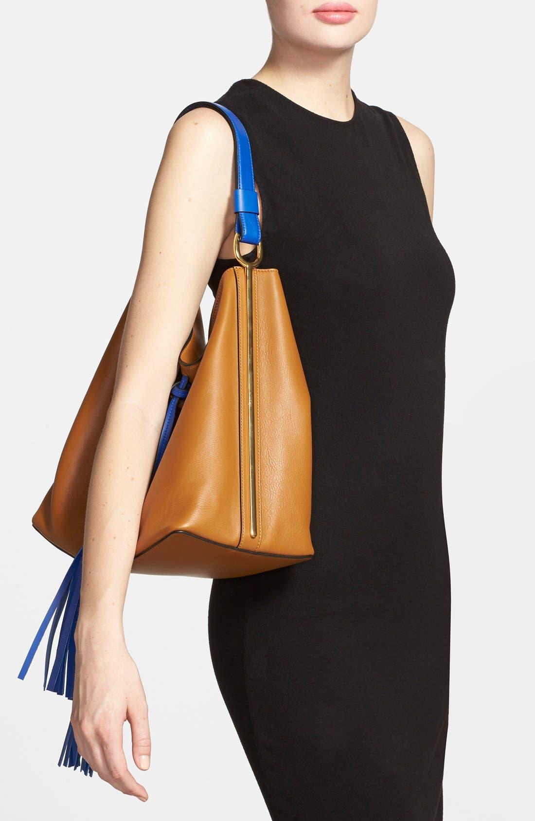 Alternate Image 4  - Marni Tasseled Leather Shoulder Bag