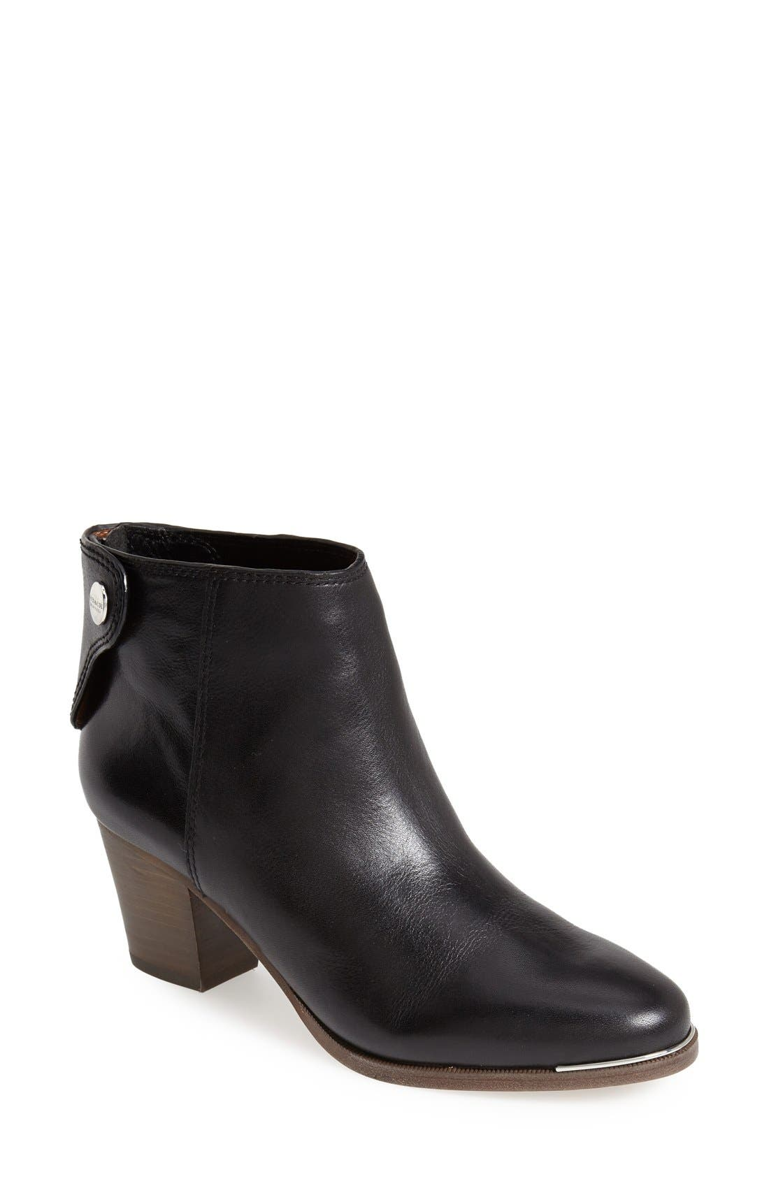 Main Image - COACH 'Waldorf' Leather Bootie (Women)
