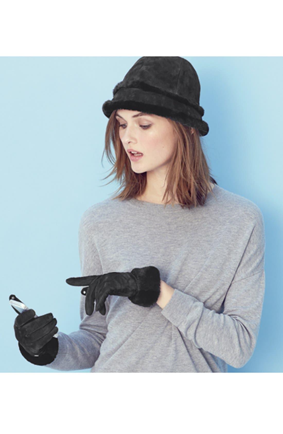 Alternate Image 3  - UGG® Australia 'Kotah Shorty' Tech Gloves (Nordstrom Exclusive)