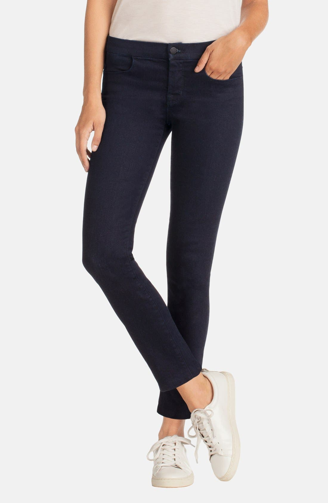 Alternate Image 1 Selected - J Brand Tailored Crop Jeans (Inkwell)