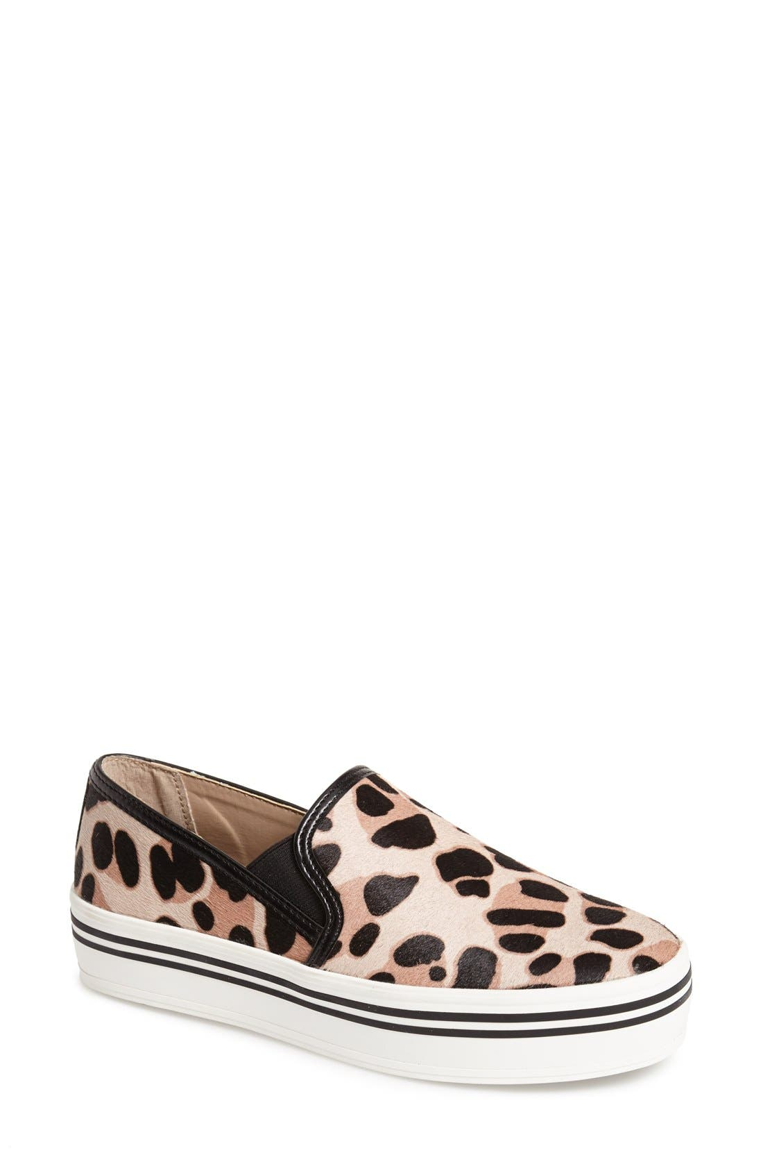 DV by Dolce Vita 'Jinsy' Slip-On Sneaker,                             Main thumbnail 1, color,                             Leopard