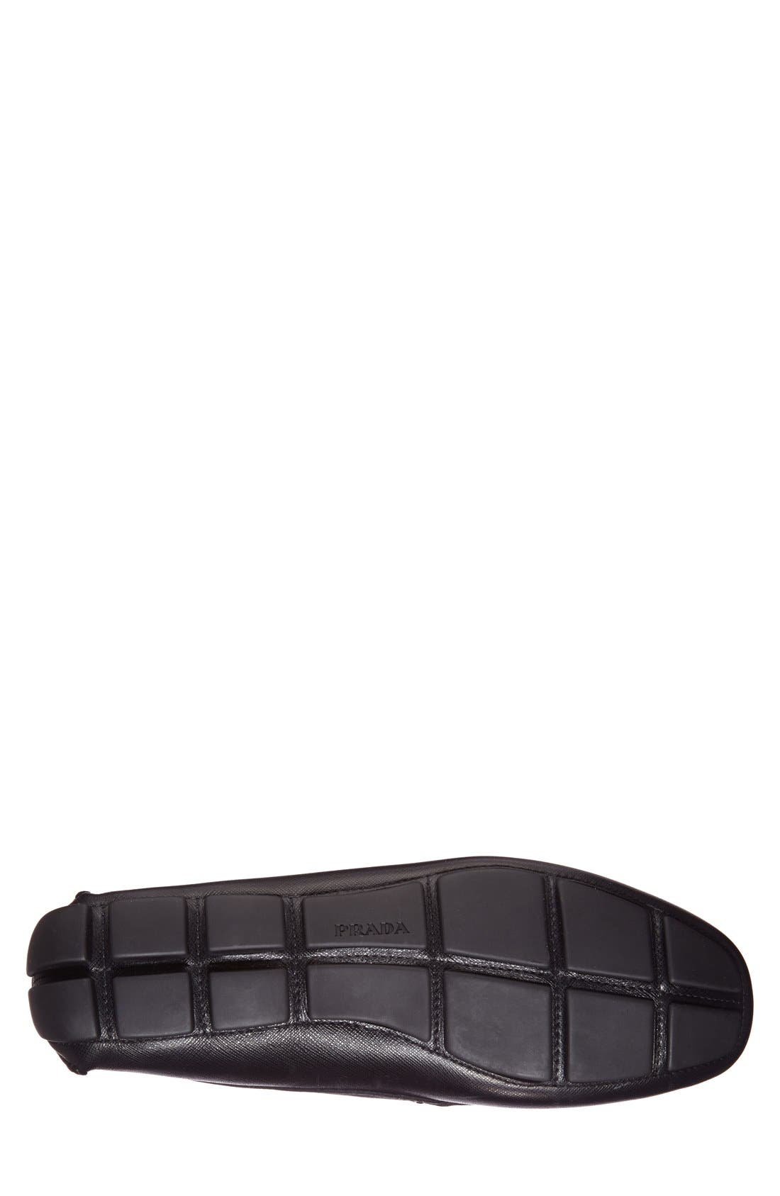 Alternate Image 4  - Prada Saffiano Leather Driving Shoe (Men)