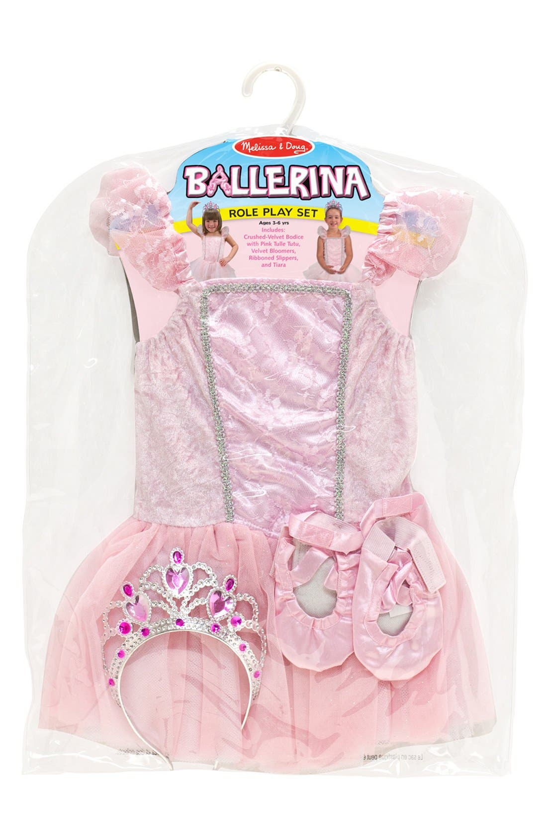 Alternate Image 2  - Melissa & Doug Ballerina Role Play Set (Little Girls)