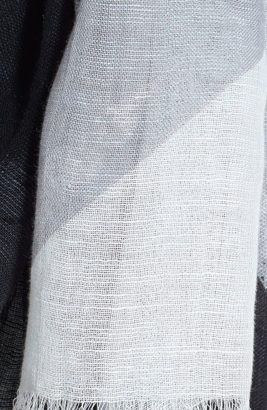 Alternate Image 3  - Halogen Paint Stripe Scarf