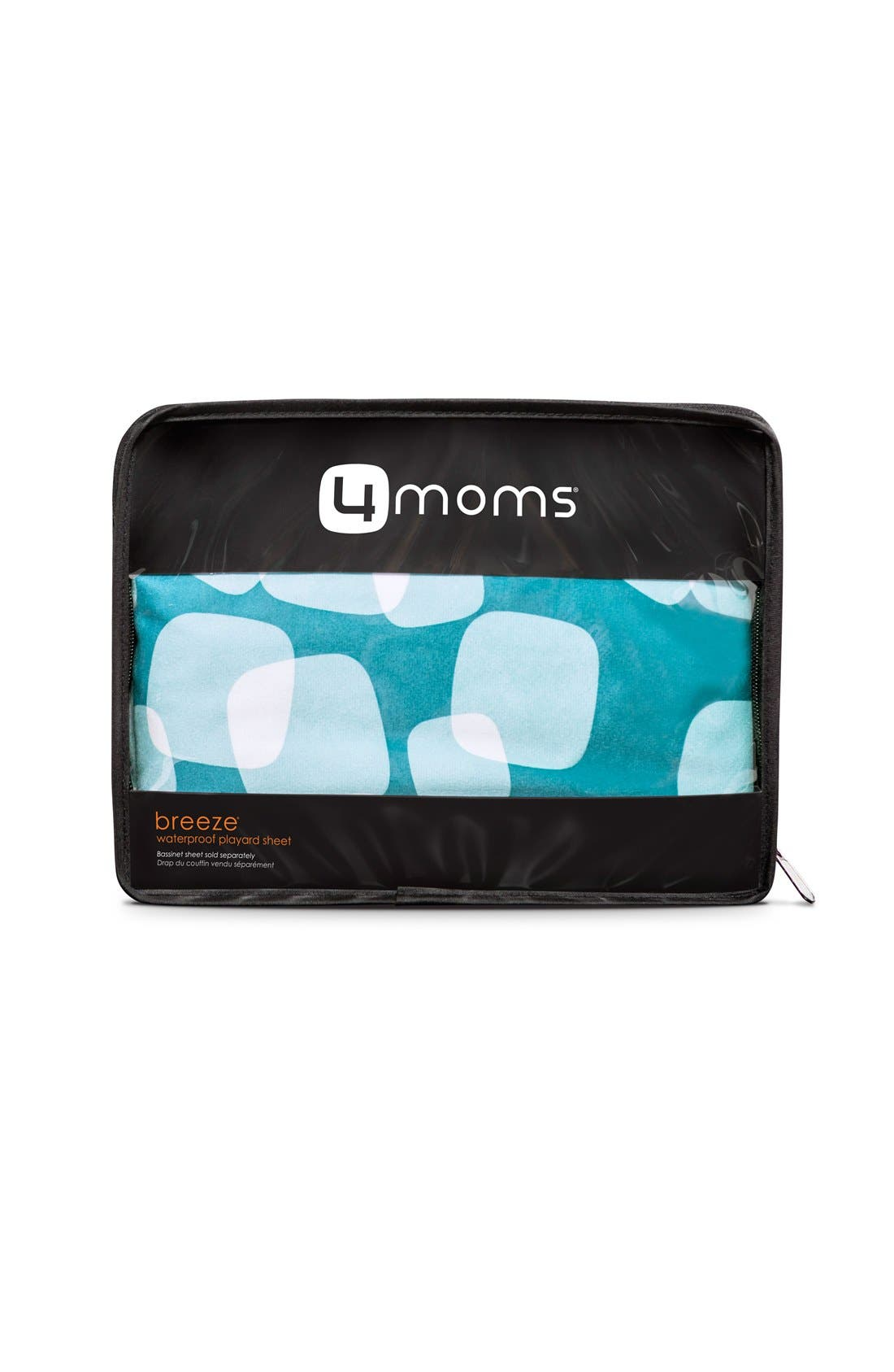 Alternate Image 1 Selected - 4moms 'Breeze' Waterproof Playard Sheet