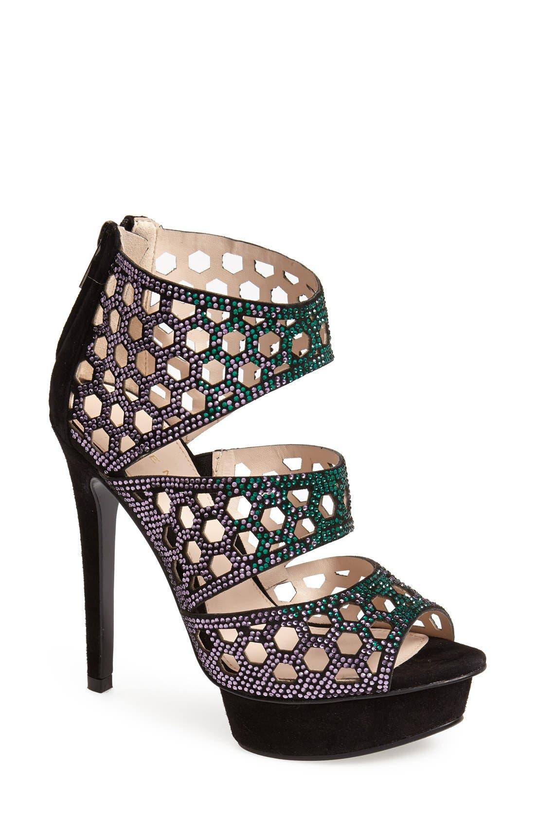 Alternate Image 1 Selected - Pelle Moda 'Mahal II' Platform Sandal (Women)