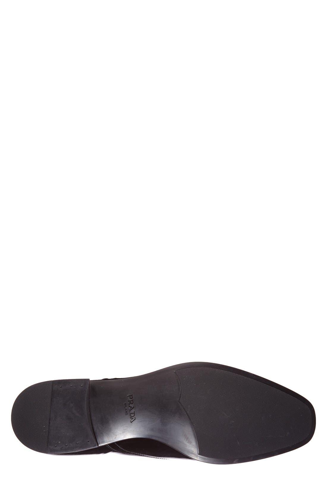 Alternate Image 4  - Prada Patent Cap Toe Oxford (Men)