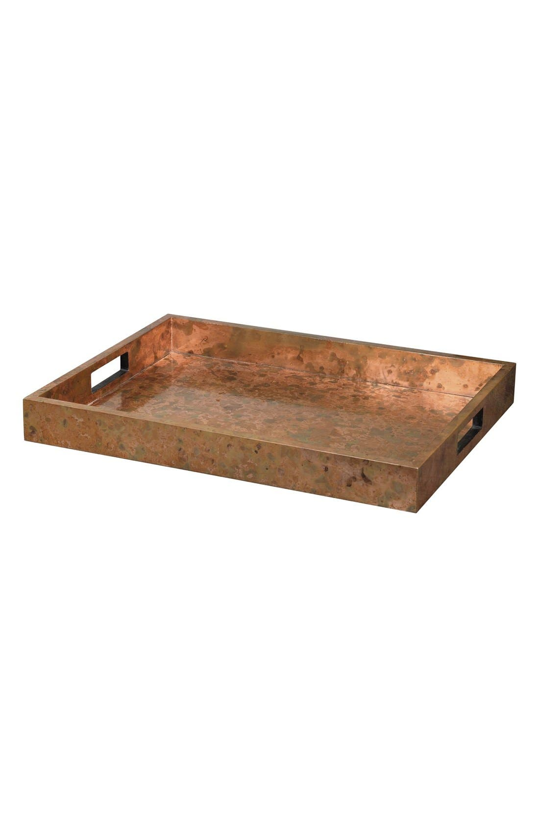 'Ambrosia' Copper Tray,                         Main,                         color, Copper