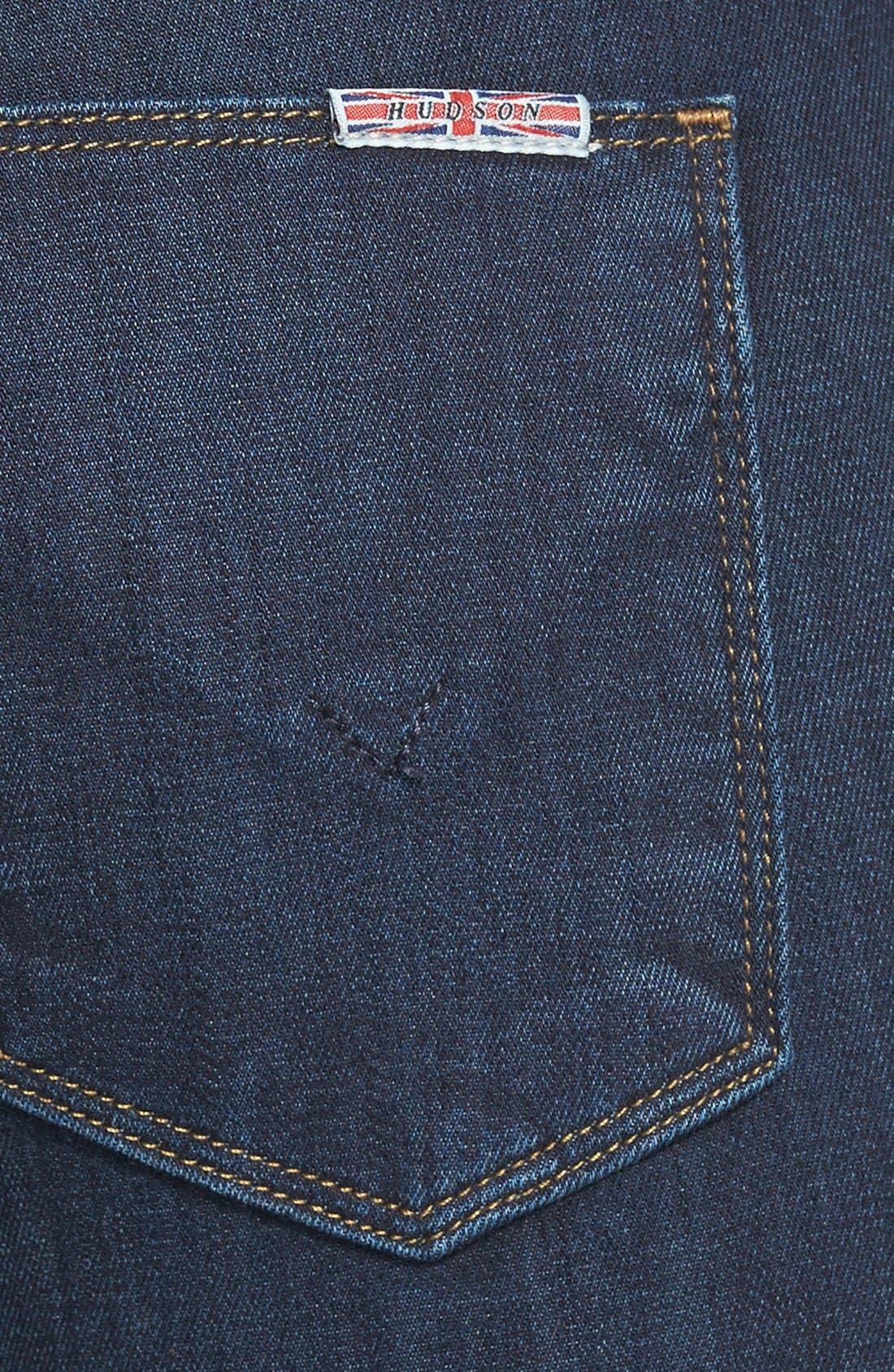 Alternate Image 3  - Hudson Jeans Mid Rise Skinny Jeans (Problem Child)