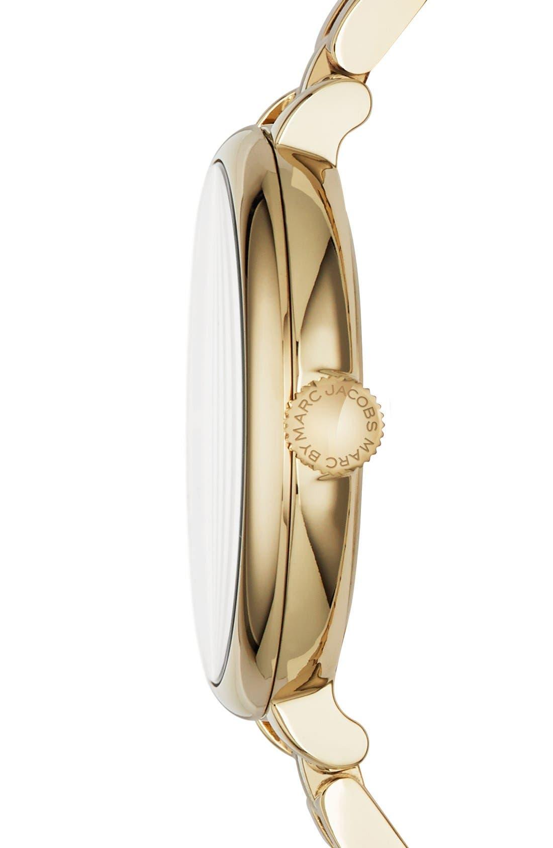 Alternate Image 3  - MARC JACOBS 'Sally' Round Bracelet Watch, 36mm