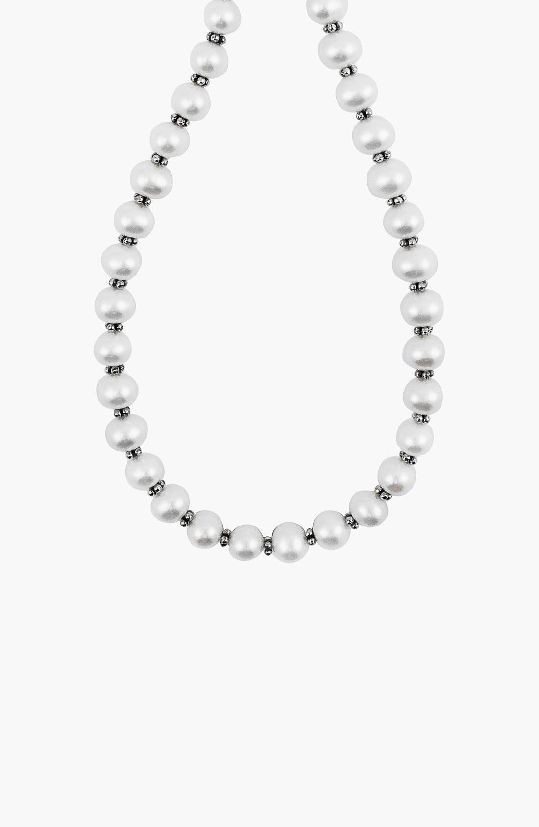 Alternate Image 2  - LAGOS 'Luna Pearl' Strand Necklace