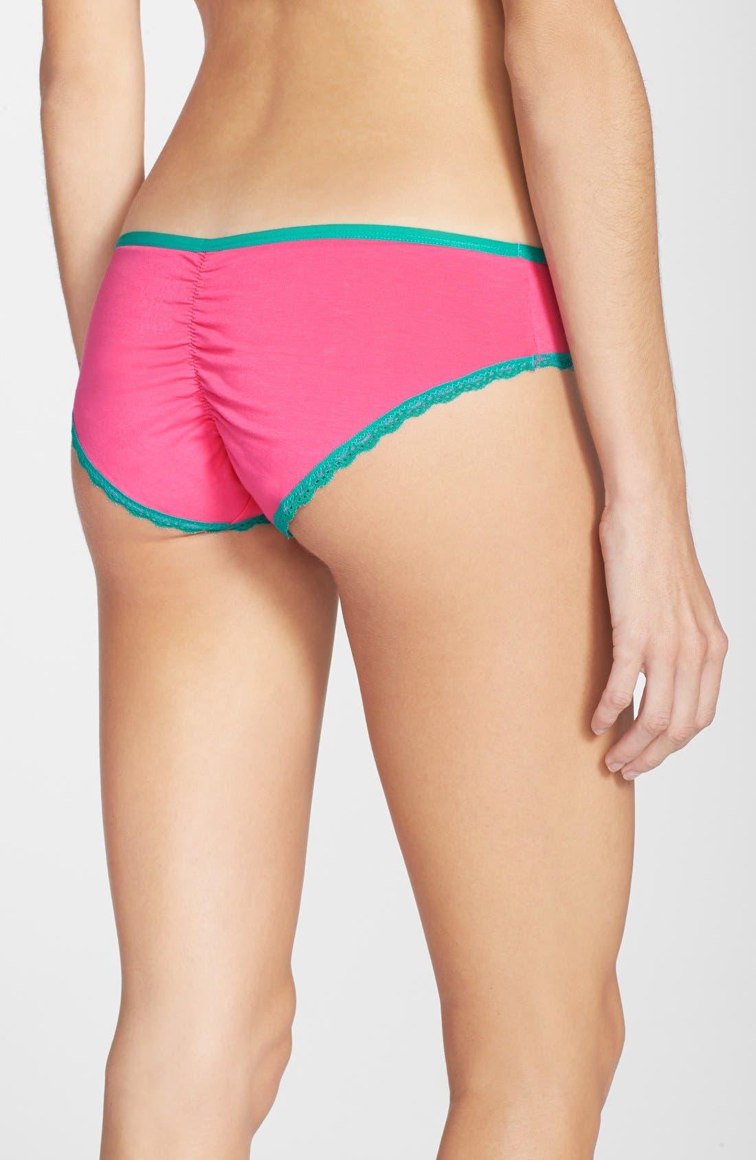 Alternate Image 2  - h.dew 'Tessa' Cotton Bikini