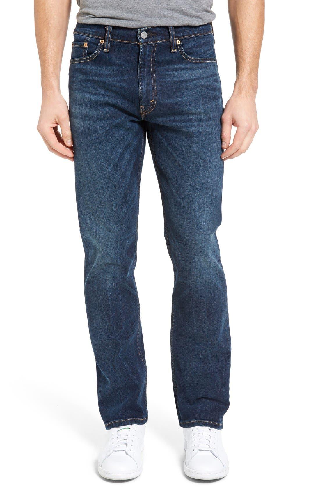 Levi's® 513™ Slim Straight Leg Jeans (Crosstown)