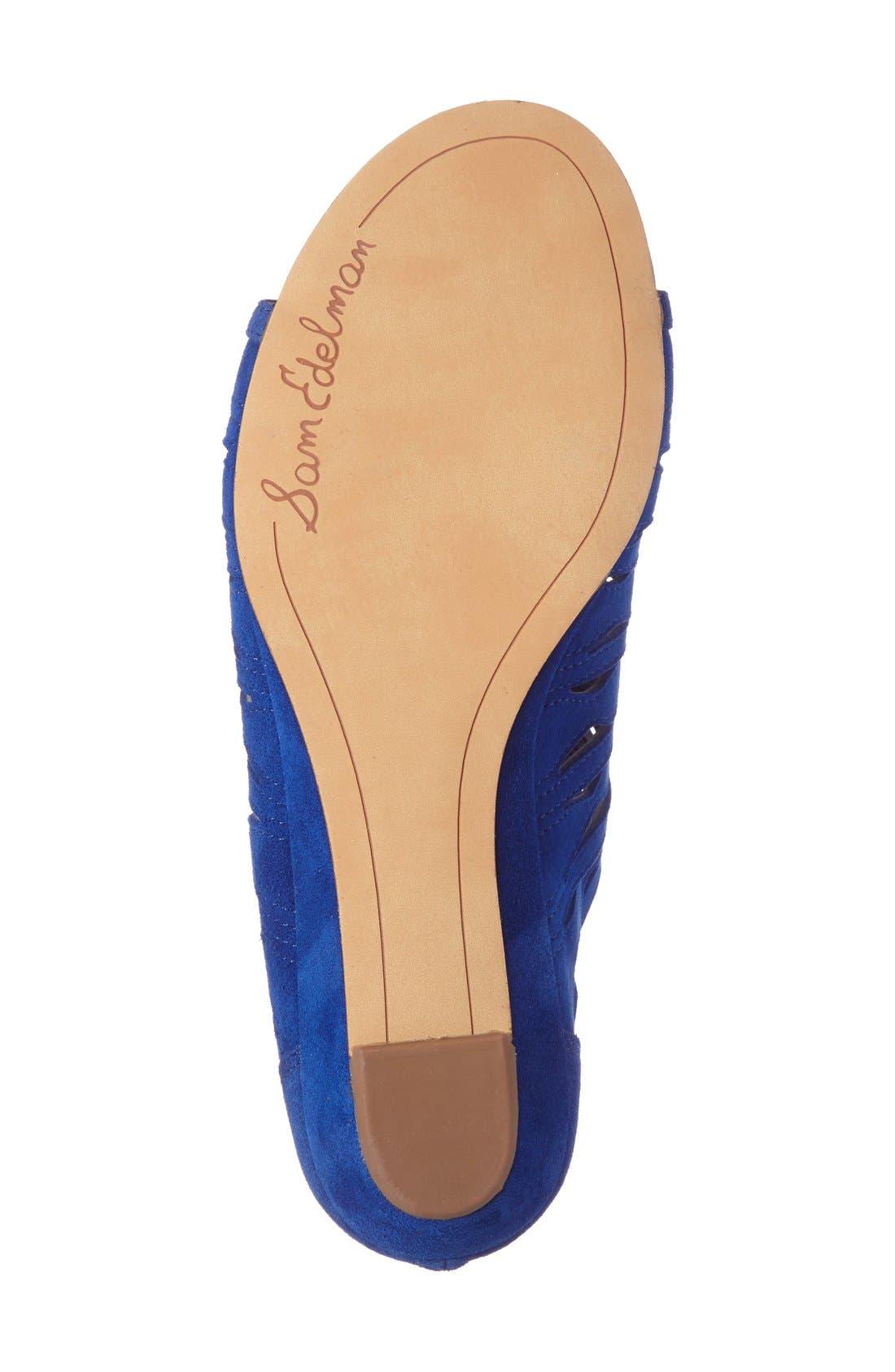 Alternate Image 4  - Sam Edelman Daleece Lace-Up Sandal (Women)