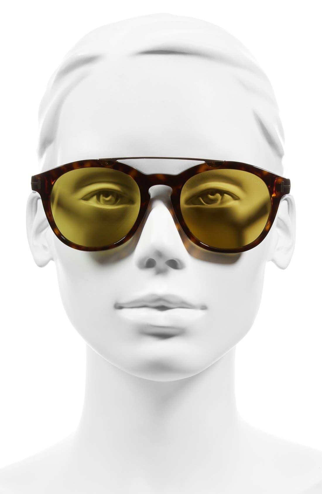 Alternate Image 2  - Tom Ford Newman 53mm Sunglasses