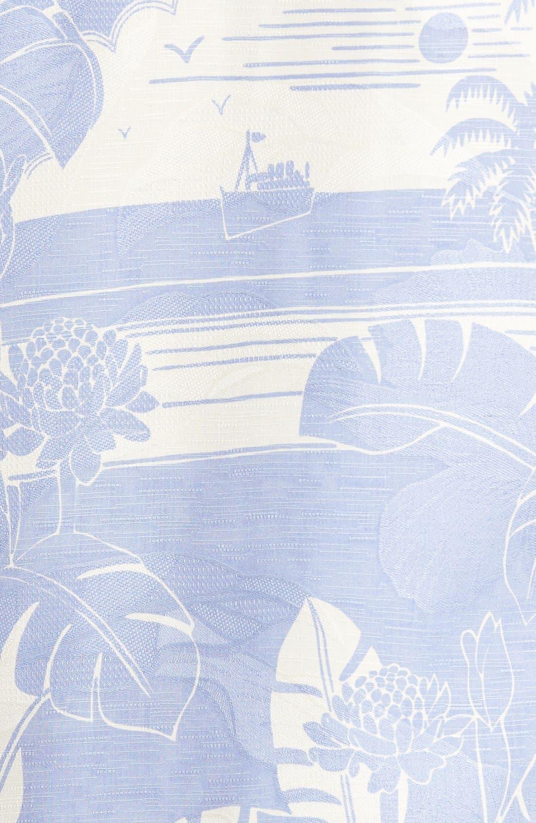 Alternate Image 5  - Tommy Bahama Bon Voyage Isle Silk Shirt