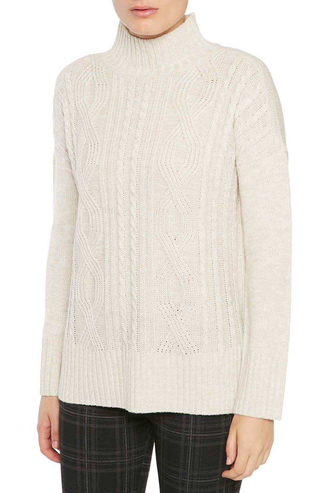 Alternate Image 1 Selected - Sanctuary The Wonderer Mock Neck Sweater