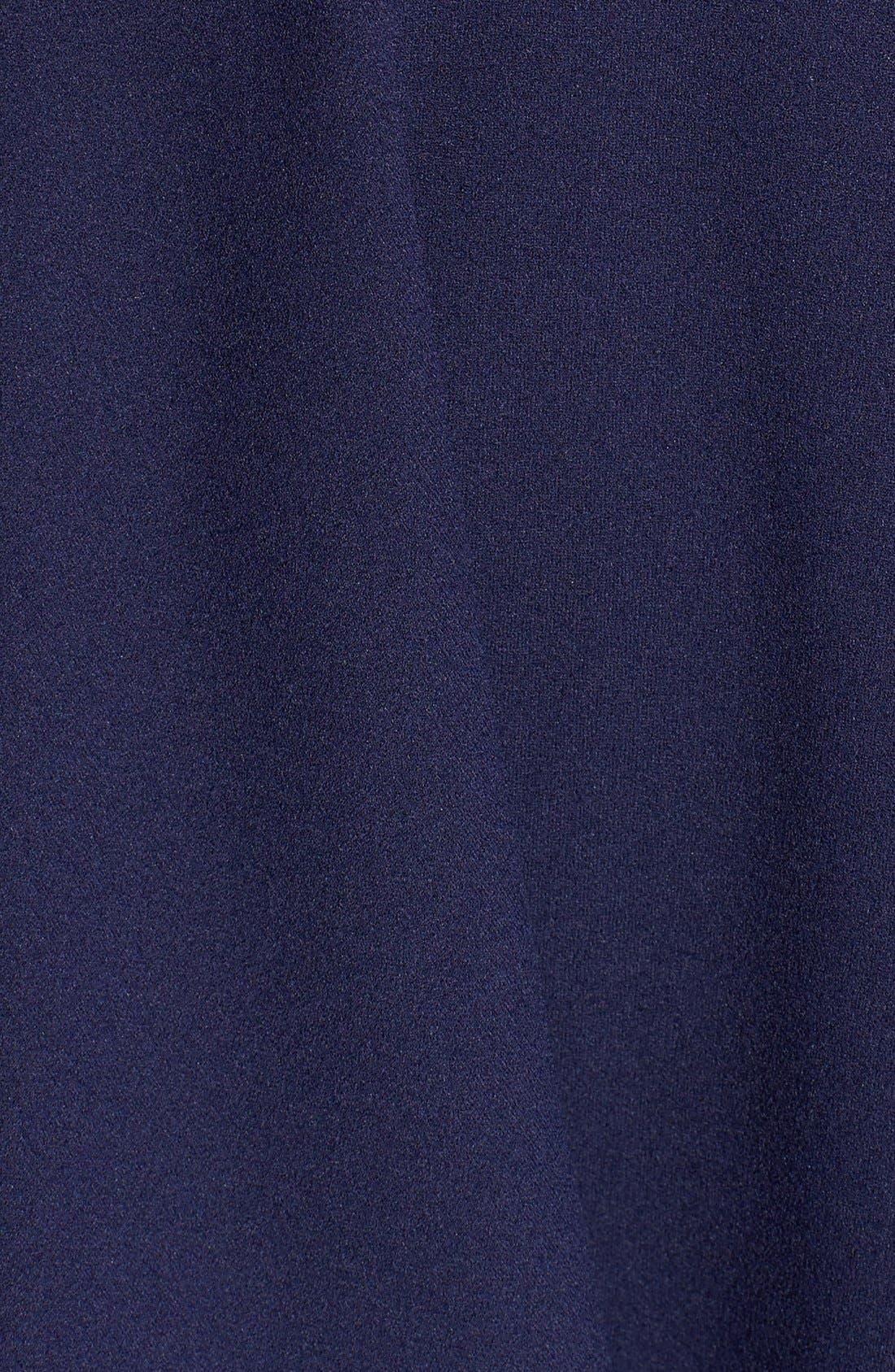 Alternate Image 5  - Dear Moon Illusion Bodice Skater Dress