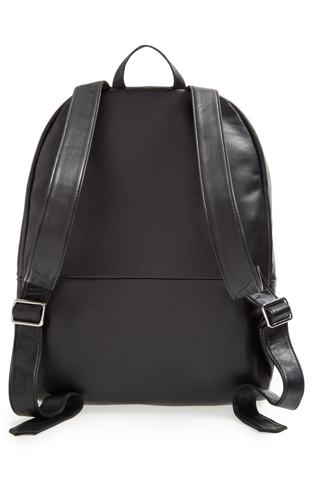 Alternate Image 4  - Elizabeth and James 'Cynnie' Lizard Embossed Leather Backpack