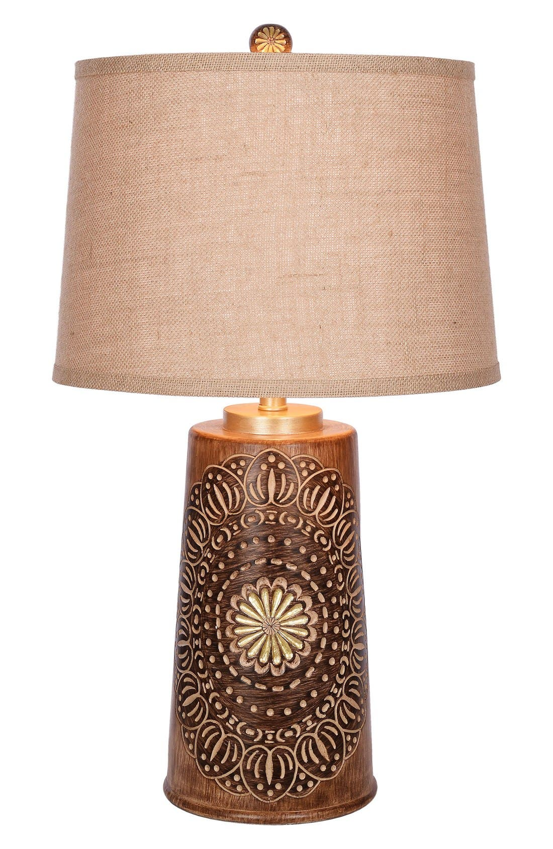 JAlexander Sadie Faux Wood Table Lamp