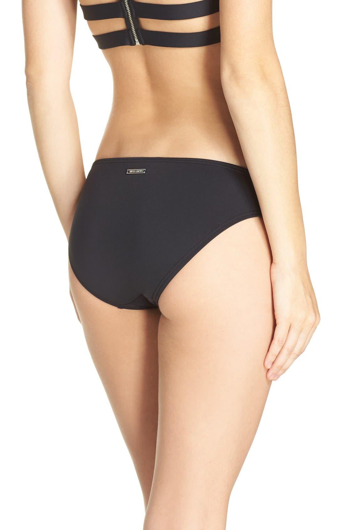 Alternate Image 2  - Vince Camuto Strap Side Bikini Bottoms