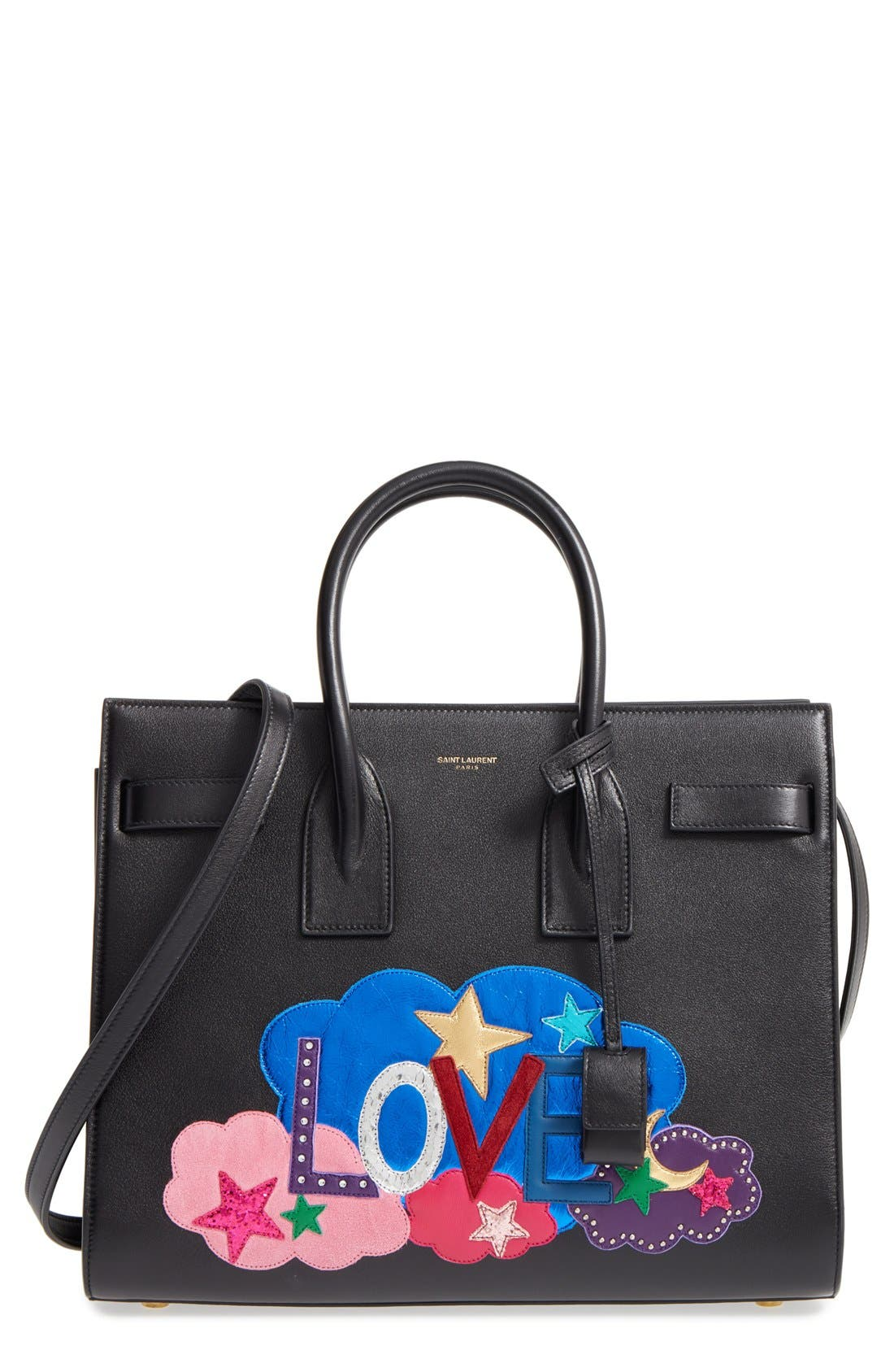Alternate Image 1 Selected - Saint Laurent Baby Sac de Jour Patchwork Leather Tote