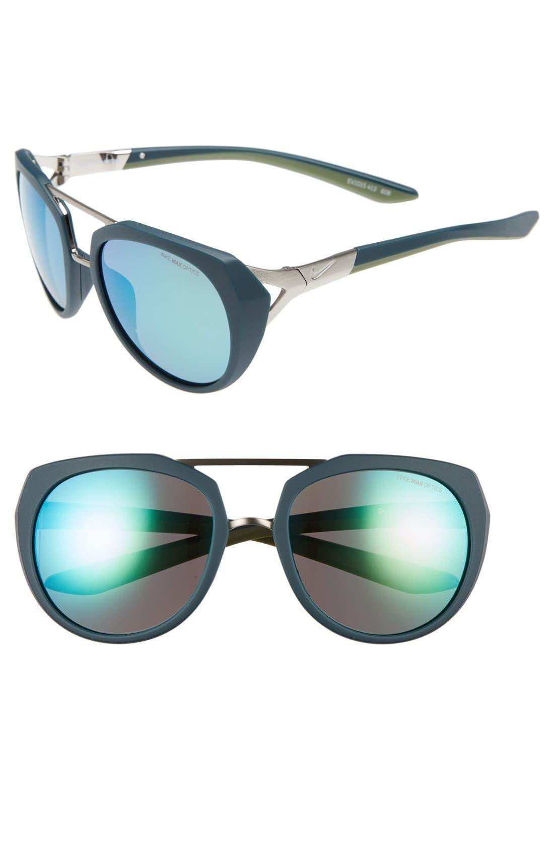 nike glasses womens blue
