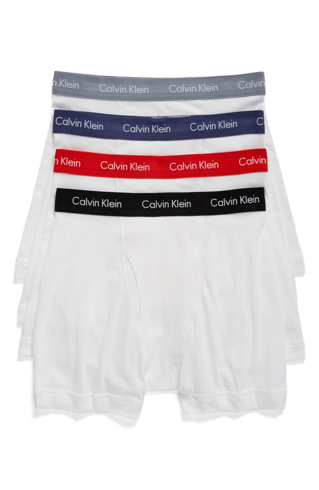 Alternate Image 1 Selected - Calvin Klein Classic 4-Pack Cotton Boxer Briefs